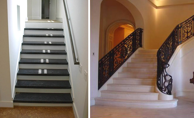 Дизайн бетонных лестниц в частном доме