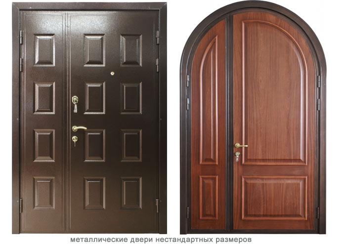 нестандартные входные двери заказ