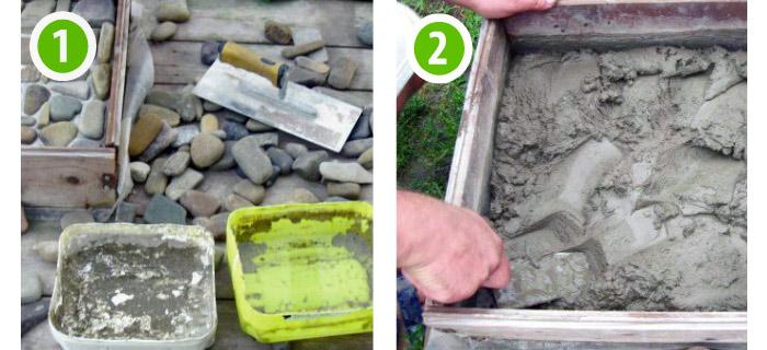 Как сделать раствор из цемента для плиток