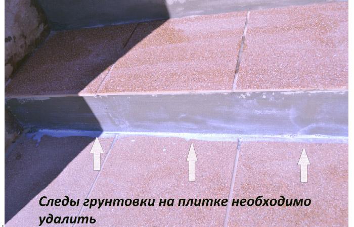 Меры предосторожности при работе с грунтовкой
