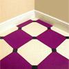Укладка  мягких плиток на  пол