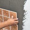 Укладка керамической плитки на пенопласт