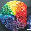 Укладка стеклянной мозаики